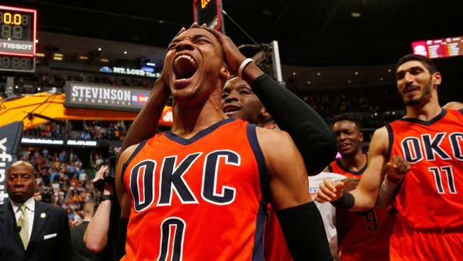 Russell Westbrook's record-breaking season in Opta numbers