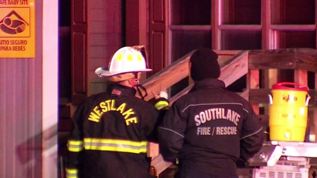 Westlake Fire Department Catches Fire