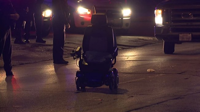 Woman in Wheelchair Struck by Car in Dallas