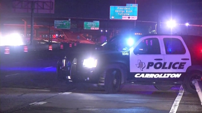 Wrong-Way Crash Shuts Down I-35 in Carrollton Sunday Morning