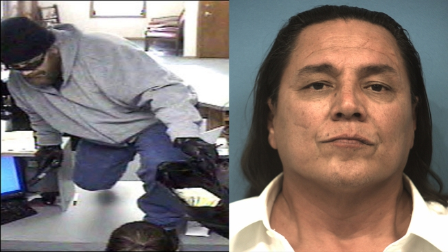 """FBI Nabs Alleged """"ZZ Top"""" Bank Robber in Fort Worth"""