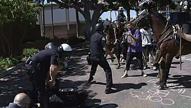Arrests Made in Latest Anaheim Shooting Protests