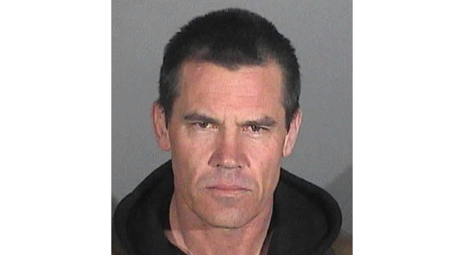 "Josh Brolin Hits ""Gangster Squad"" Premiere Solo Following Bust for Public Intoxication"