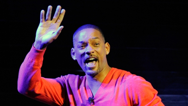 Will Smith, Slime Ready for Kids Choice Awards