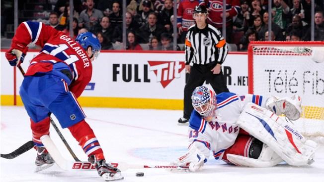 Canadiens Blank Rangers 3-0