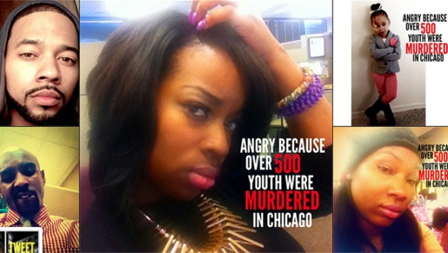 Chicago Man Sparks Anti-Violence Social Media Campaign