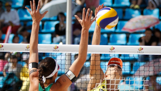 Brazil, Peru to Play for London Spot in Volleyball