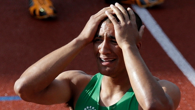 Ashton Eaton Sets World Record in Decathlon