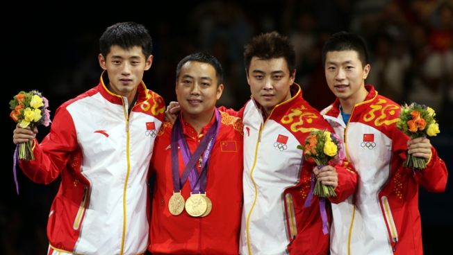 China Sweeps All Table Tennis Titles