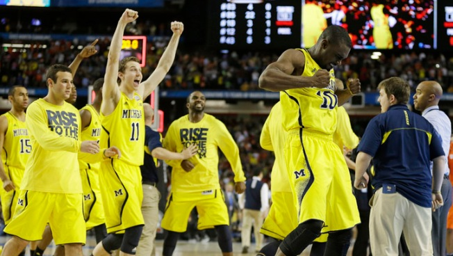 Michigan Downs Syracuse 61-56 in NCAA Semifinal