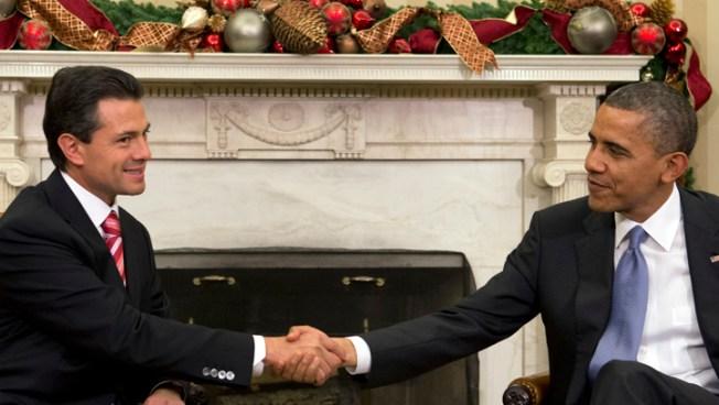 Obama, Mexico's Leader Plot Border Surge Strategy