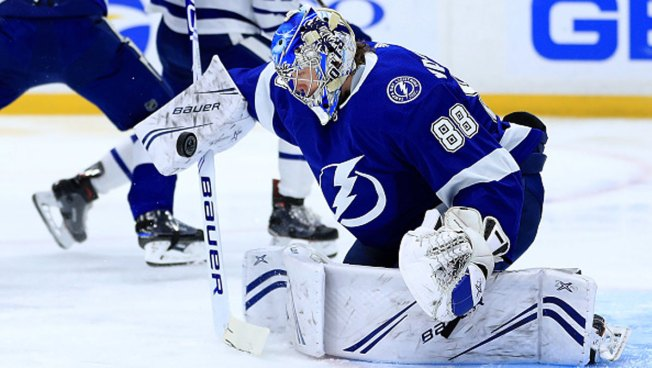 Lightning Top Stars 2-0 on Vasilevskiy's 2nd Shutout in Week
