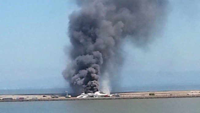 Asiana Airlines Plane Crash Images, Videos on Social Media