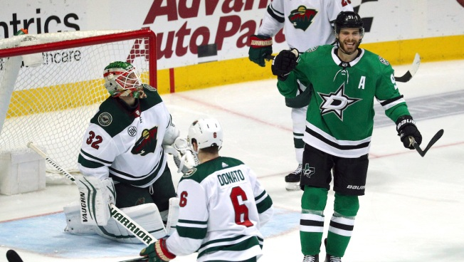 Stars Beat Wild for Top Wild-Card Spot in Western Conference