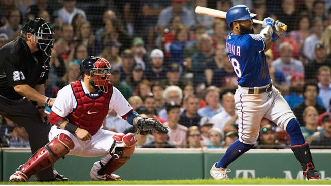 Rangers Rally to Beat Red Sox in 11 Innings