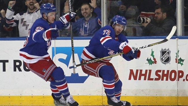 Chytil Scores Again, Rangers Beat Stars
