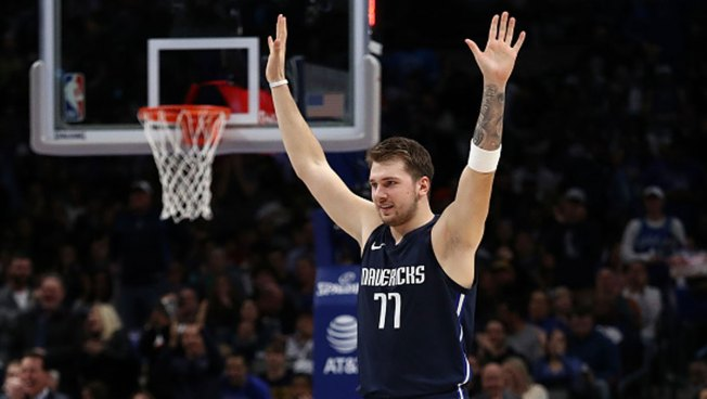 Doncic Named Western Conference Player of the Week