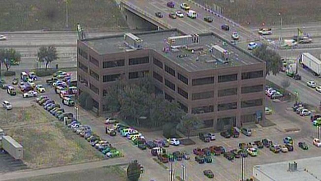 Worker Shot Inside Grand Prairie Office Building