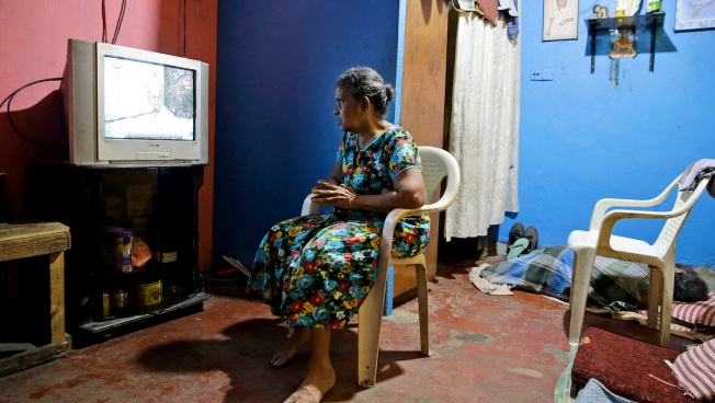 With Churches Shut After Bombs, Sri Lankans Hear Mass on TV
