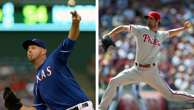 Rangers, Phillies Agree to Trade Involving Harrison, Hamels: Sources