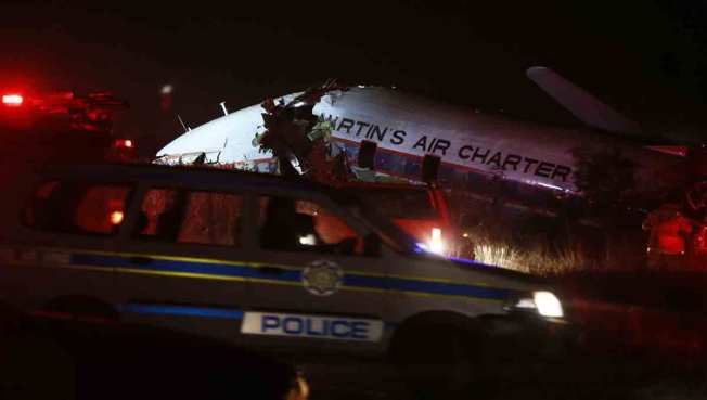 South Africa Charter Plane Crashes; 1 Killed, 20 Injured