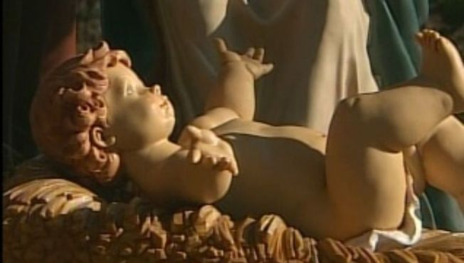 Stolen Baby Jesus Returned