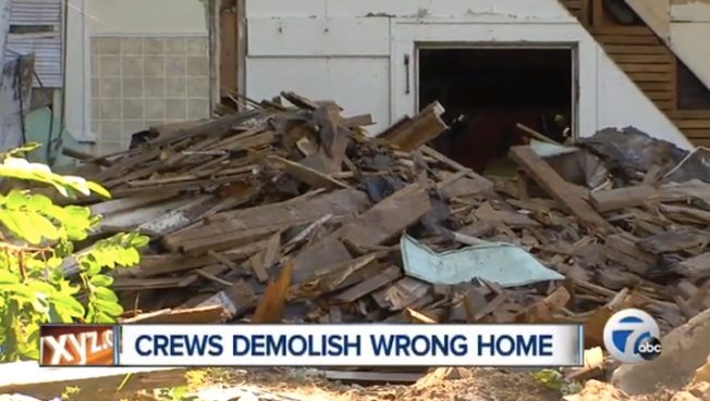 Man Accused of Switching Addresses To Save His Home From Demolition