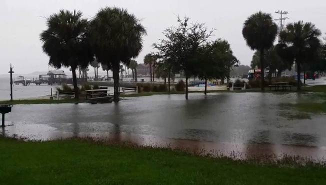 Stalled Storm System Threatens Northern Gulf Coast With Flooding, High Temps