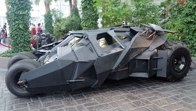 Batman Vehicles Headed to Dallas
