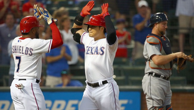 AL West Leader Texas Snaps 3-Game Skid, Beats Tigers