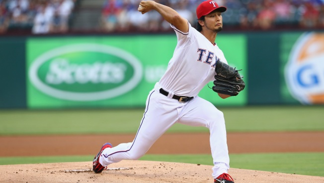 Yu Named Rangers Pitcher of the Year