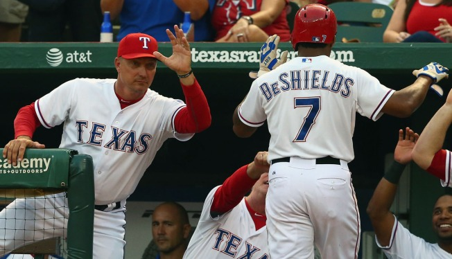 DeShields Gets Two Days Off Before Stretch Run