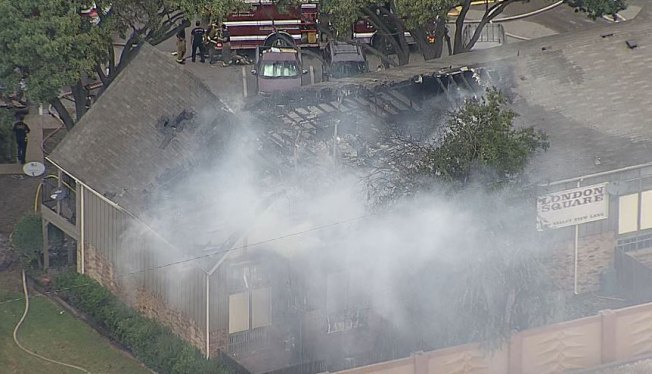 2-Alarm Fire at Dallas Apartment Complex