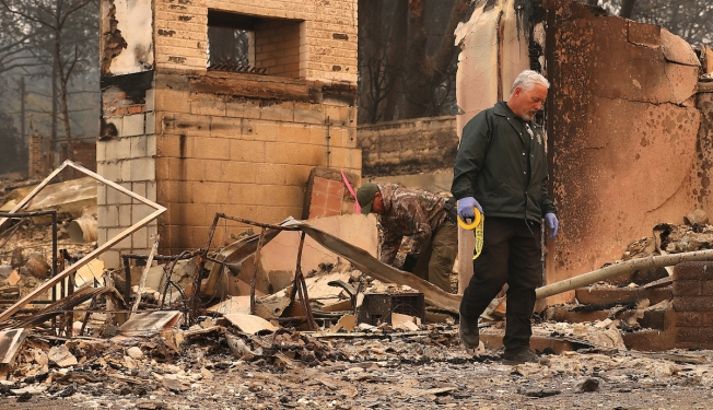 Northern California Fire Officials Start Agonizing Search for Dead