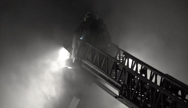 Dallas Firefighters Brave Bitter Cold, Battle Fire in South Dallas