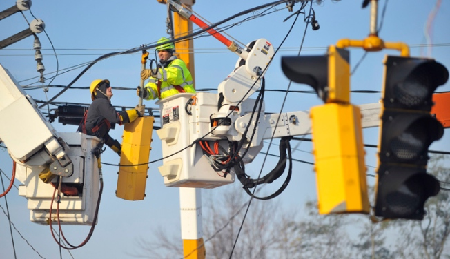 Some Still Without Power After Winter Storm
