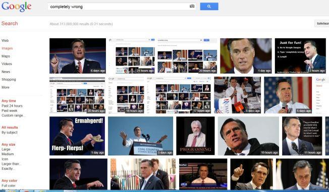 Google Accused of Anti-Romney Bias
