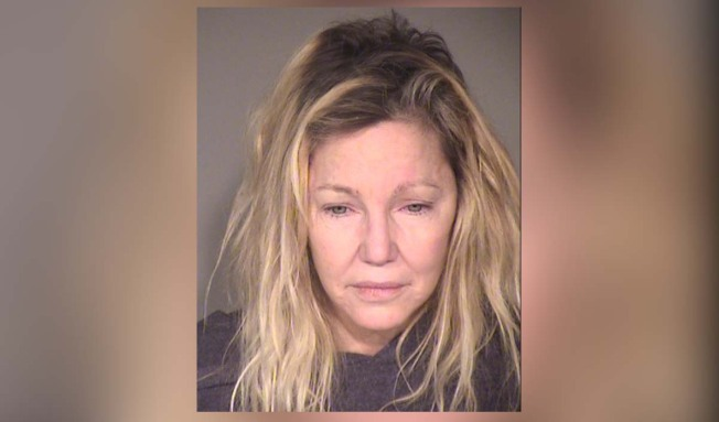 Heather Locklear Arrested for Attacking a Cop and an EMT