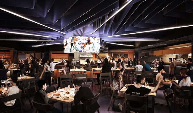 Cowboys Open Stadium Club Restaurant at AT&T Stadium