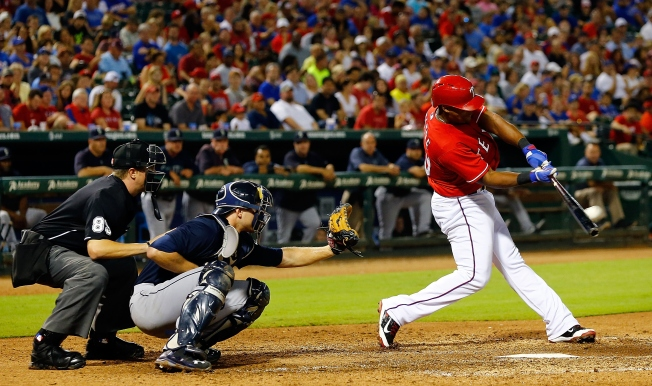 Beltre Drives in 3 to Continue RBI Barrage