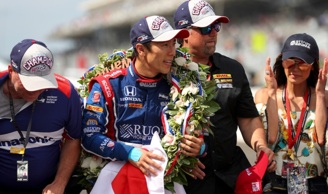 Sportswriter Tweets That Japanese Indy 500 Winner Makes Him 'Uncomfortable'