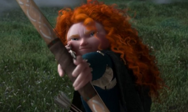 "Your First Look at Pixar's ""Brave"""