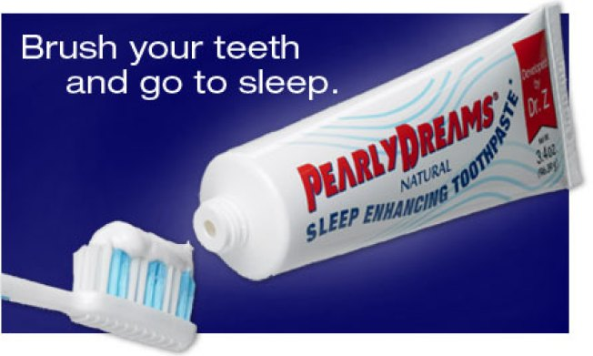 Toothpaste That Knocks You Out
