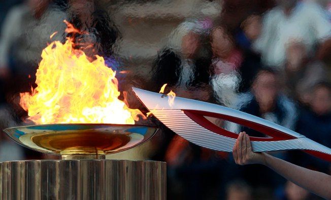 Olympic Flame Arrives in Sochi