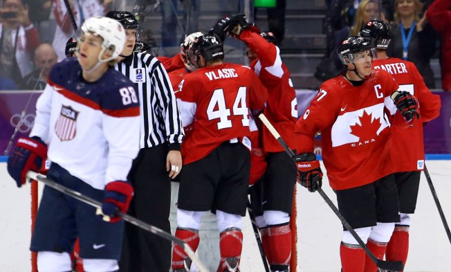 On Golden Ponds: U.S. Still Can't Clear Canadian Hockey Hurdle