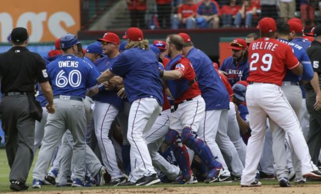 Newy's Conversation with Rangers Analyst Mark McLemore on the Odor-Bautista Fight