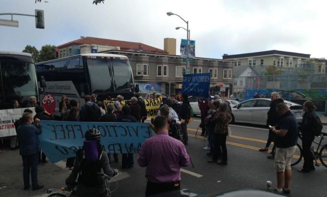 Tech Invasion Backlash: Protesters Block Google Buses in San Francisco