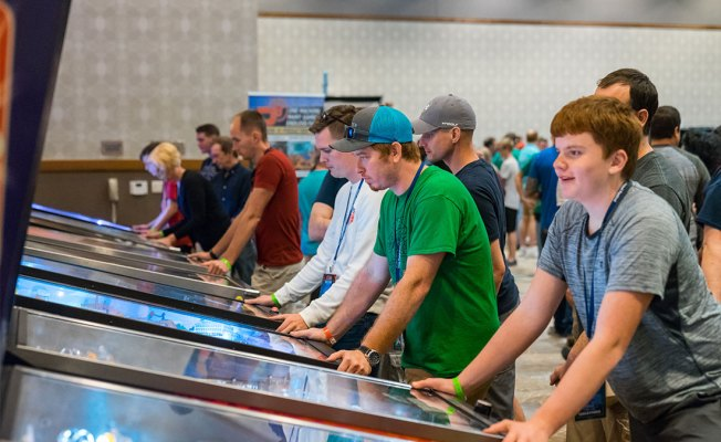 Images from Texas Pinball Festival