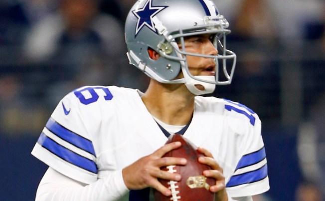 Cowboys, 'Skins Tied 3-3 at Half