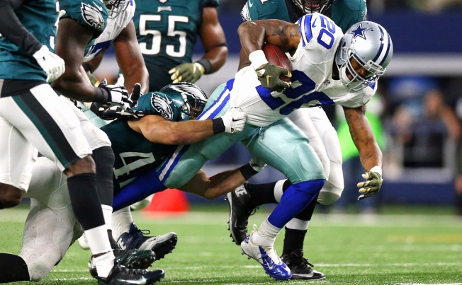 McFadden Eclipses 1,000 Yards, Earns Bonus